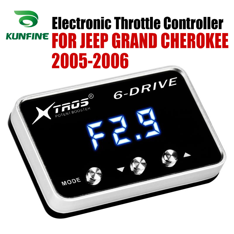 Car Electronic Throttle Controller Racing Accelerator Potent Booster For JEEP CHEROKEE KJ 2005 2006 Tuning Parts AccessoryCar Electronic Throttle Controller Racing Accelerator Potent Booster For JEEP CHEROKEE KJ 2005 2006 Tuning Parts Accessory