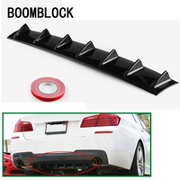 Car Bumper Deflector Modified Spoiler Shark Fin 7 Wings For BMW E36 E46 E90 E39 E30 F30 F10 F20 X5 E53 E70 E87 E34 E92 M