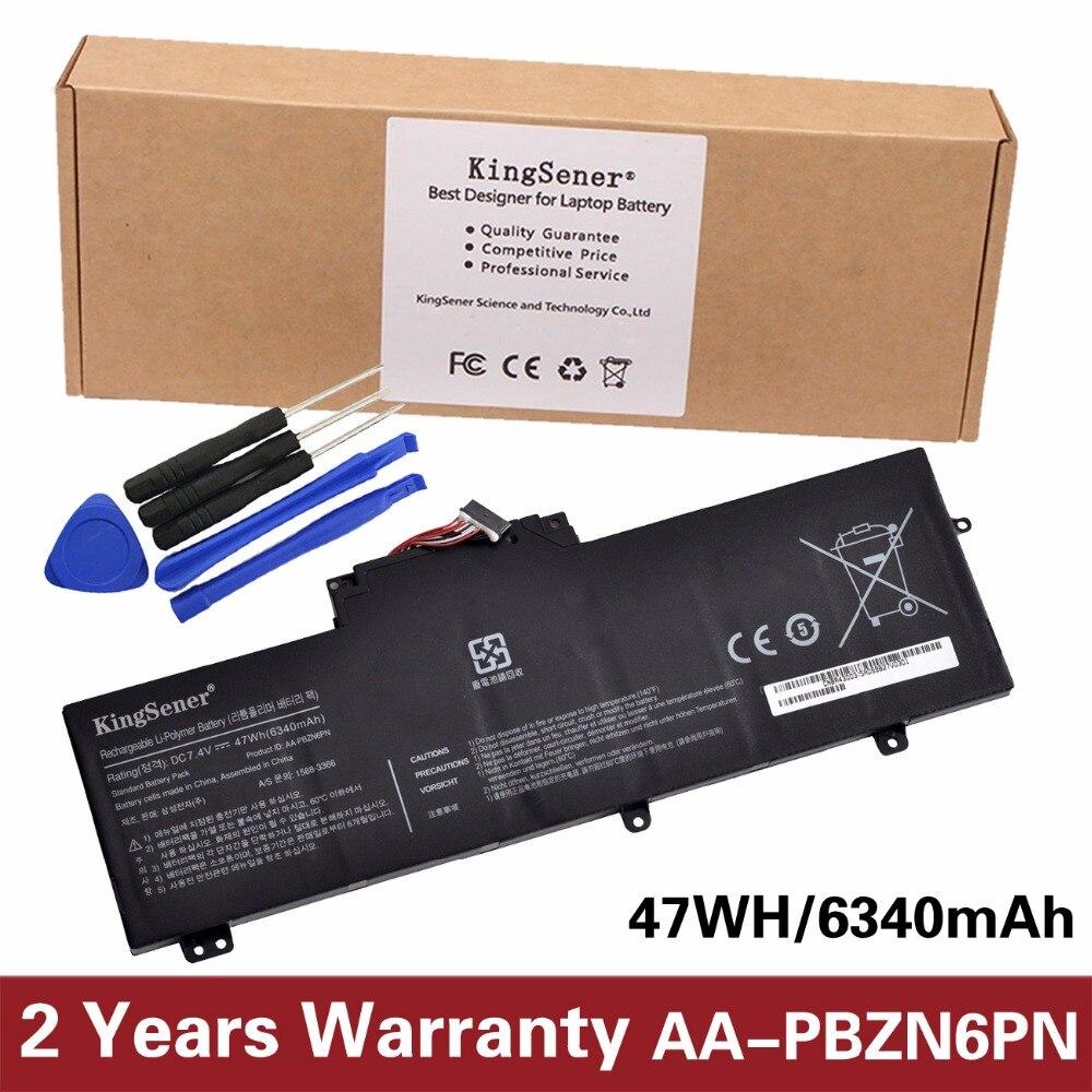 KingSener AA-PBZN6PN Laptop Battery For SAMSUNG NP350U2A NP350U2B 350U2A 350U2B AA-PBZN6PN BA43-00315A 1588-3366 7.4V 6340mAh lmdtk new 6cells laptop battery for samsung nc10 nc20 nd10 n110 n120 n130 n135 aa pb6nc6w 1588 3366 aa pb8nc6b free shipping