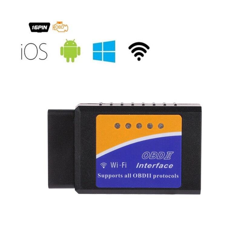 ELM327 OBD2 V1.5 Diagnose Auto Scanner ST Chip Ulme 327 Wifi OBD Geeignet Für IOS Android/iPhone Windows