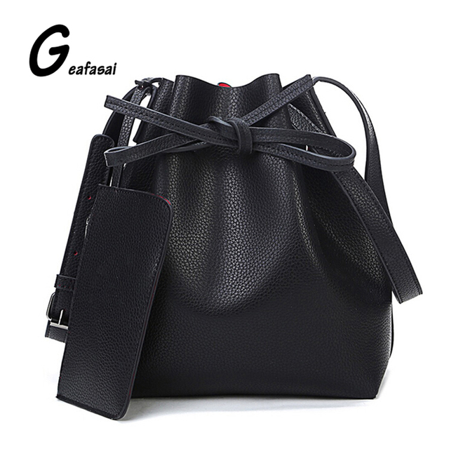 Nova marca das senhoras do desenhador vermelho azul preto balde bolsa de ombro crossbody sacos para as mulheres senhora Bolsas femininas de grande capacidade preço em Dólar
