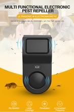 Haşere Kovucular Ultrasonik Elektronik Haşere Kontrol Sıçan Kovucu için de Hamamböceği Sivrisinek Sinek Yarasa Kuş Örümceği Reddetmek Killer 1 adet