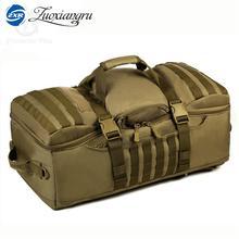 Zuoxiangru мужские/женские сумки 60 л водонепроницаемый рюкзак военный 3P рюкзаки школьная сумка для ноутбука