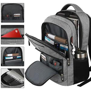 Image 3 - Laptop Backpack 15.6 Unisex Fits Inch Business Travel Anti Theft Slim Durable Backpack with USB Charging Port Water School Bag