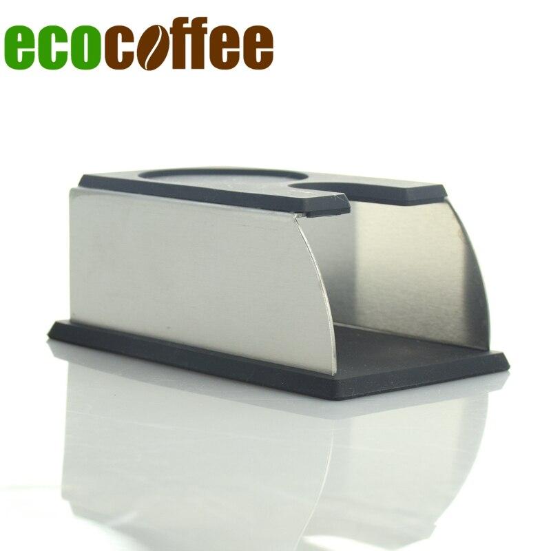 இYF19A negro espresso tamper soporte bastidor base - a884