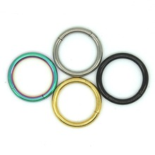 2015 Classic G23 Universal Piercing Rings Labret, Lip, Ear, Nose Septum Piercing Jewelry 4 Colors A21