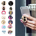 Cute Finger Holder With Anti-fall Phone Smartphone pop Desk Stand Grip Mount Socket For Apple iphone 6s Samsung Xiaomi