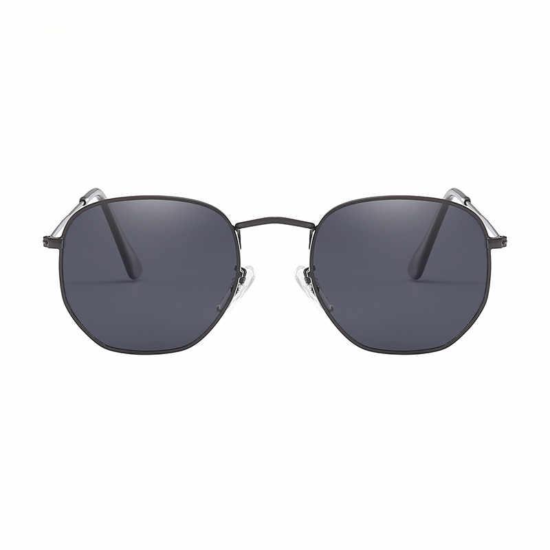 2019 ใหม่แฟชั่น Polygon แว่นตากันแดดผู้หญิงผู้ชาย Designer Designer วินเทจแว่นตากันแดดเซ็กซี่คู่แว่นตา UV400