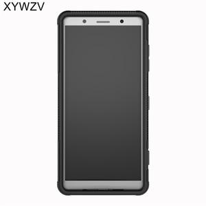 Image 2 - SFor Coque Sony Xperia XZ2 קומפקטי מקרה קשה סיליקון טלפון Case עבור Sony Xperia XZ 2 קומפקטי כיסוי עבור Xperia XZ2 קומפקטי מעטפת