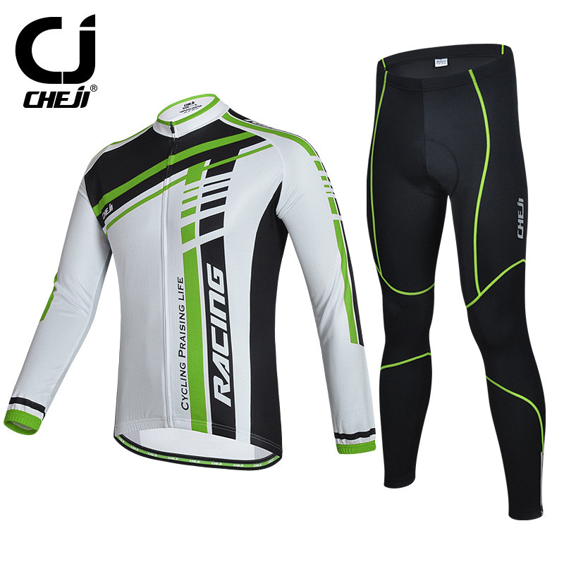 Cheji Ropa Invierno Ciclismo Winter Cycling Clothing/Long Sleeve Cycling Jersey Set/Racing Road Bike Jersey Bicycle Sportswear ropa ciclismo breathable mountain bike jersey long sleeve bicycle cycling clothing winter cheji men s cycling jersey sets