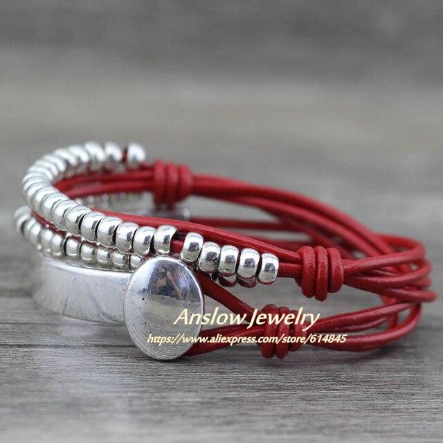 Anslow Brand Bohemian Vintage Handmade Multilayer Wrap Jewelry 3