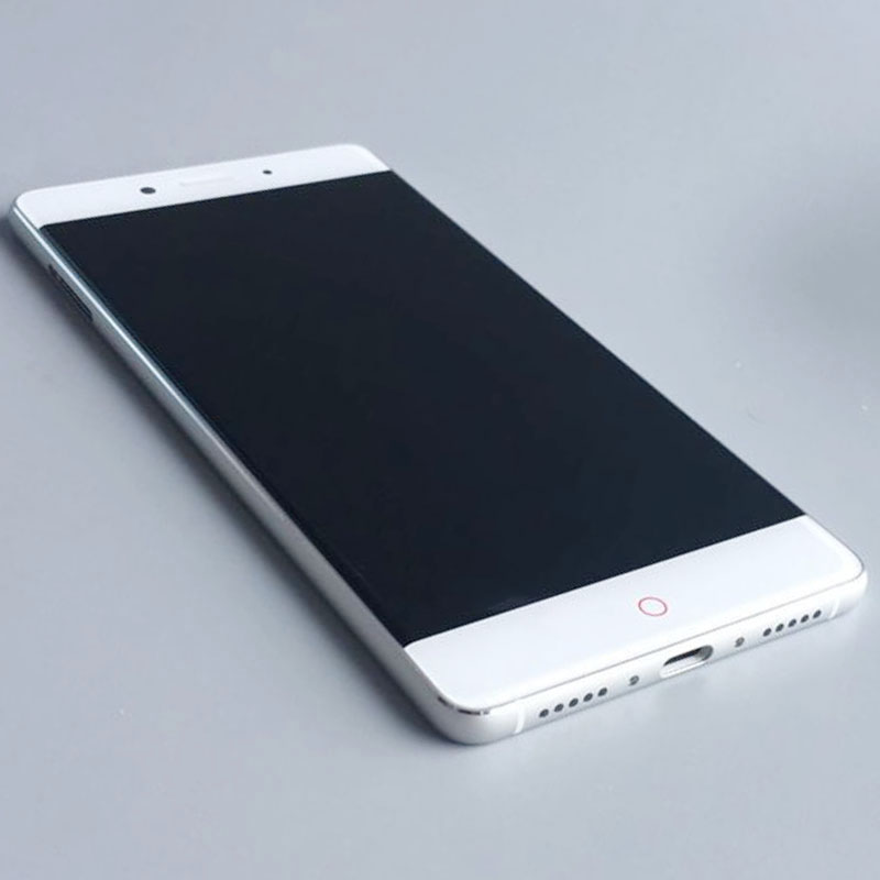 White LCD Display Screen Touch Digitizer Assembly+Frame for ZTE Nubia Z11 Nx531j replacement