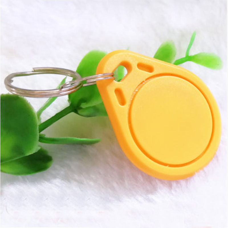 key chip 100 pcs lot 125kHz RFID Proximity ID Token Tag Key Keyfobs rfid key fob for door entry system in Access Control Cards from Security Protection
