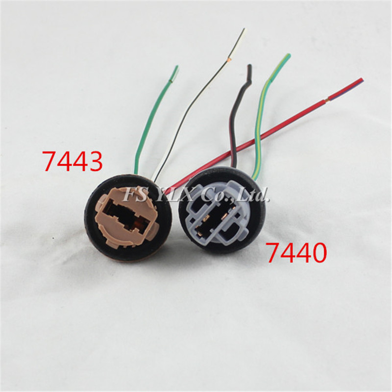7440 7443 T20 Female Socket Wiring Harness For T20 LED DRL Backup Turn Signal tail Light 7440 7443 t20 female socket wiring harness for t20 led drl backup Wiring Harness Diagram at soozxer.org