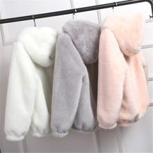 Lovepeapomelo, новинка, пальто из искусственного меха с капюшоном, высокая талия, Модная приталенная черная, красная, розовая куртка из искусственного меха, искусственный мех кролика, D390