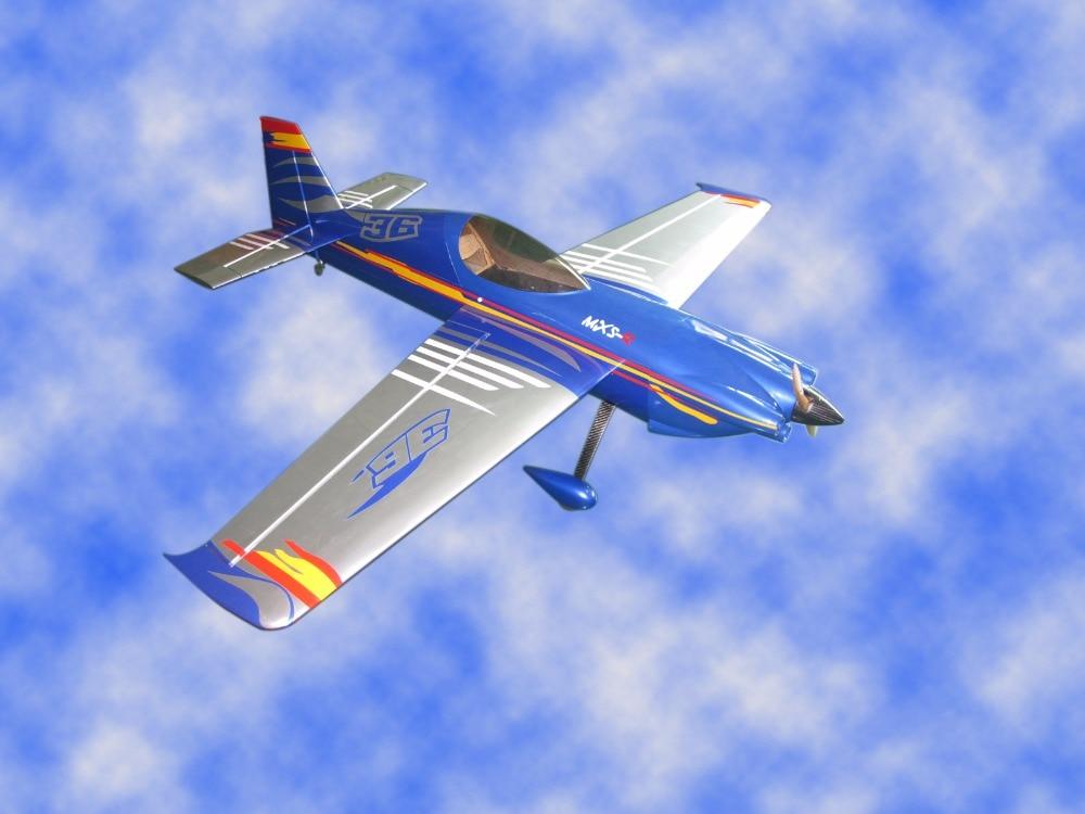 New colour schemes plane MXS-R 89 50cc Gas 6 Channels ARF RC Airplane Model new phoenix 11207 b777 300er pk gii 1 400 skyteam aviation indonesia commercial jetliners plane model hobby