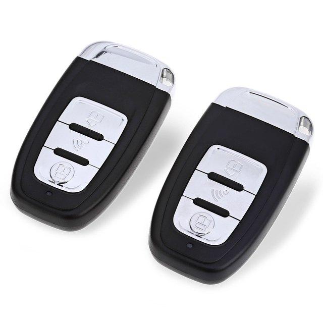 Car Remote Control Kit Keyless Entry System NTP02 PKE Universal Vehicle Burglar Alarm Central Lock Automation Vibration Alarm