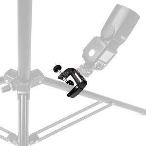 Image 3 - مشبك متعدد الوظائف من Godox ستوديو Q لمصباح يدوي Speedlite حامل Powepack