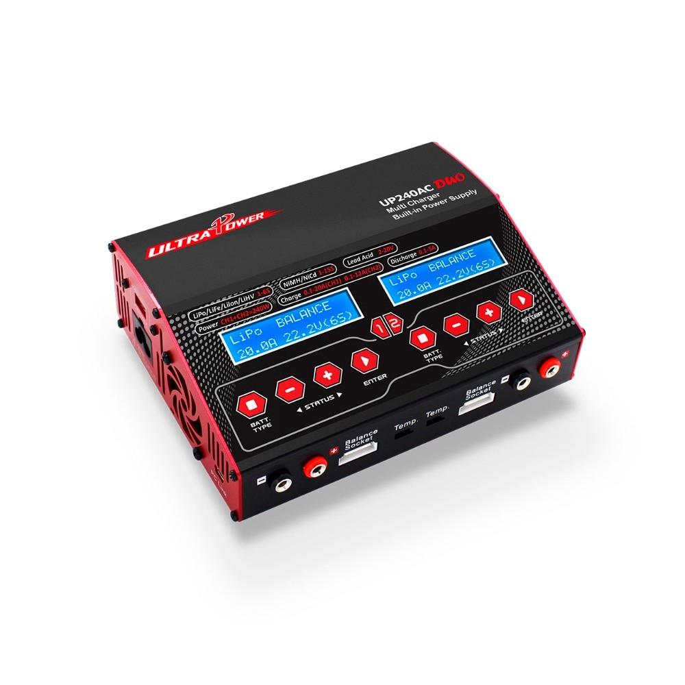 Cargador de equilibrio de batería Ultra Power UP240AC DUO 240 W Lipo/plomo/níquel para modelo RC-in Partes y accesorios from Juguetes y pasatiempos    1