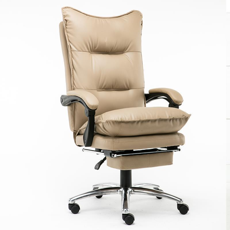 Computer home boss leather lunch break office seat swivel chair the boss chair is real leather the home can be massaged leather big class chair seat computer chair