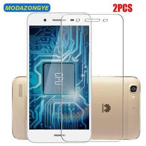 Image 1 - 2 stücke Gehärtetem Glas Huawei GR3 Screen Protector Huawei GR3 TAG L21 TAG L22 TAG L23 GR 3 TAG L01 TAG L03 TAG L13 Schutz Glas