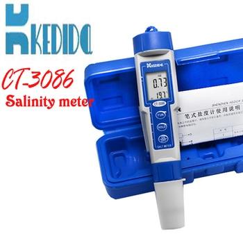 CT 3086 Salt Meter ,Water Salinity Tester, Pen type digital salt meter range:0.0% 5.0% ATC (auto temperature compensation)|water salinity tester|digital salt meter|salinity tester -