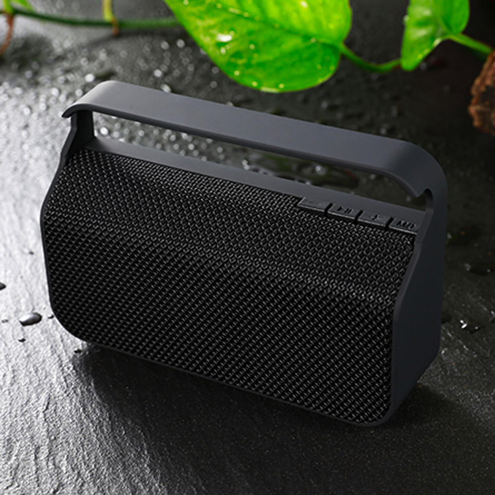 Fashion Portable Wireless BT4.2 Stereo SD FM Speaker For Smartphone Tablet Laptop Bluetooth Column Speakers Computer NT19