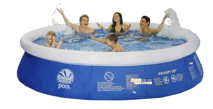 Grand adulte en plein air famille piscine ultralarge épaississement cercle enfant intérieur gonflable piscine - 6