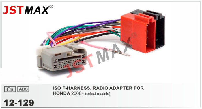 impreza cd radio stereo wiring harness adapter lead loom jstmax car dvd radio stereo iso cable adapter for honda ... kenwood car stereo wiring harness adapter