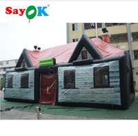 10x5x5m na zewnątrz gigantyczne pcv dmuchany pub namiot nadmuchiwane irlandzki Bar namiot na impreza