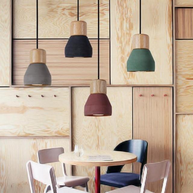 Bauprojekte Kunst Neue Mode Decke Zement Anhänger Lampe Drop Licht ...