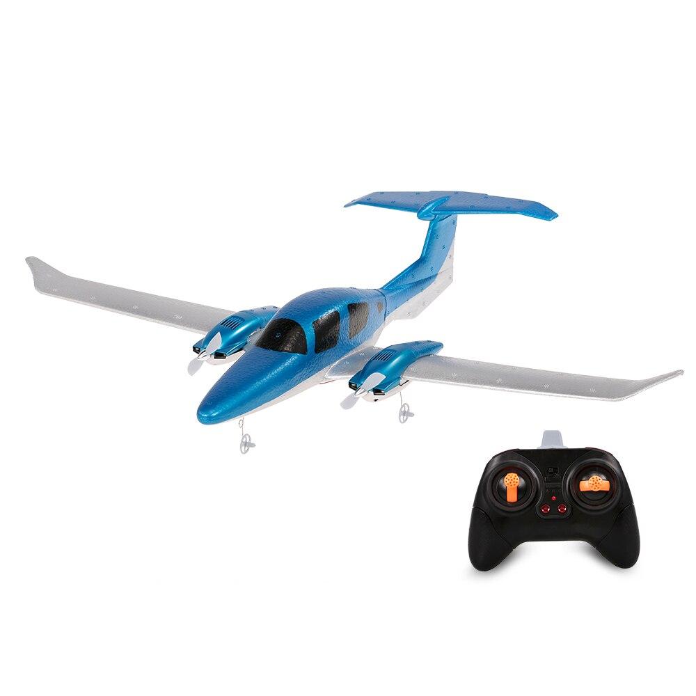 Drone télécommandé GD006 DA62 2.4G 2CH Diamond Aircraft RC Avion 550mm Envergure Mousse Main Lancer Planeur kit de bricolage jouets pour enfants