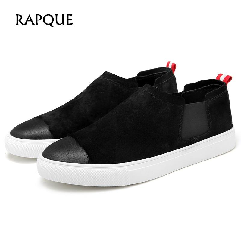 Miehet Casual-kengät alhaiset muotialustat klassiseen tyyliin Flat - Miesten kengät
