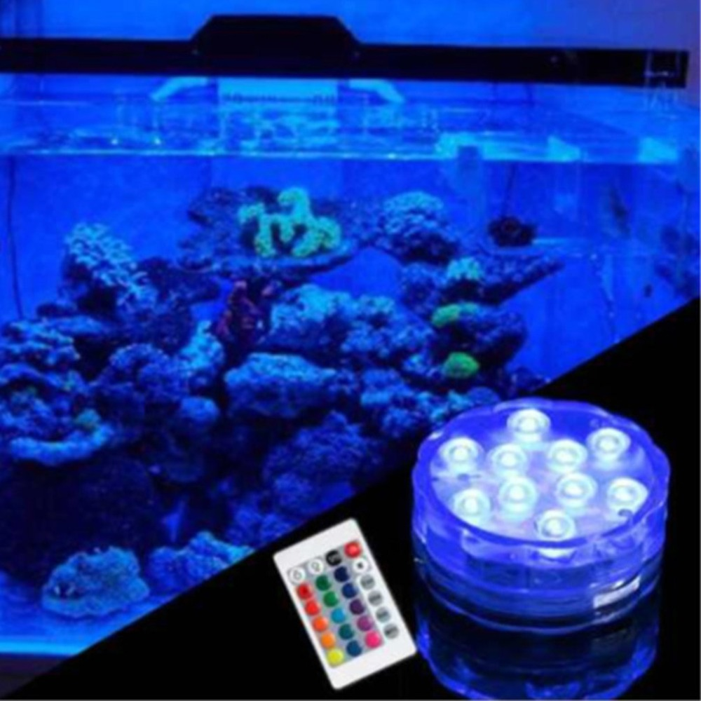 Led Lamps Led Underwater Lights Icoco New Swimming Pool Light Ip68 Piscine With Remote Control Rgb Submersible Light Durable Led Bulb Portable Underwater