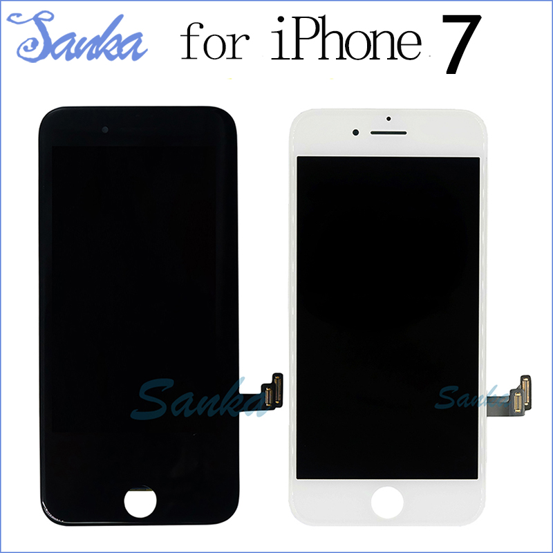SANKA For Apple iPhone 7 LCD Display Screen with Touch Glass 3D Touch Digitizer Assembly Replacement Pantalla Mobile Phone LCD