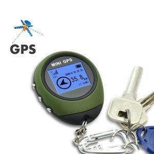 Image 2 - Podofo 미니 GPS 트래커 추적 장치 여행 휴대용 키 체인 로케이터 Pathfinding 오토바이 차량 스포츠 핸드 헬드 키 체인