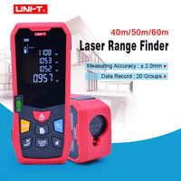UNI-T 40M 50m 60m Laser Rangefinder Digital Laser Distance Meter battery-powered laser range finder tape distance measurer