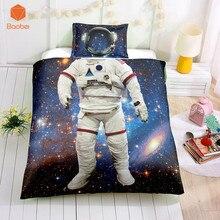 Bedding-Set Pillowcases Quilt-Cover Bedspreads Princess-Dress 2pcs Sky Astronaut
