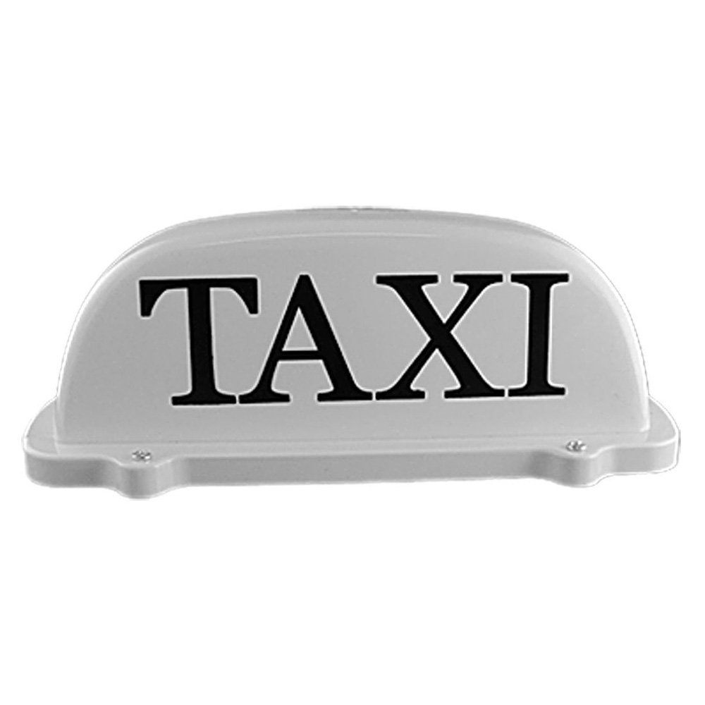 TOYL Taxi Cab Roof Light with Magnetic Base Sign DC 12V - Yellow Light 12v taxi magnetic base roof top cab led sign light lamp with cigarette lighter