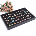 Rings display tray jewellery Organizer Show Case Jewelry Display box  Rings and earrings show cases Pendant display tray