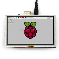 5 Inch LCD HDMI Touch Screen Display TFT LCD Panel Module 800 480 For Banana Pi