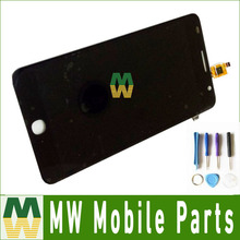 1pc/lot For Alcatel One Touch Pop Star 3G 5022 OT5022 5022d  LCD Screen And Touch Screen Assembly Black Color With Tools