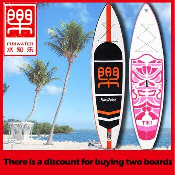 d095e384e Caiaque inflável Stand Up Paddle Board Sup-Board Prancha de Surf definir  335 (320)   84 15 centímetros com Mochila