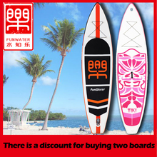 цена на Inflatable Stand Up Paddle Board Sup-Board Surfboard Kayak Surf set 335(320)*84*15cm with Backpack,leash,pump,waterproof bag
