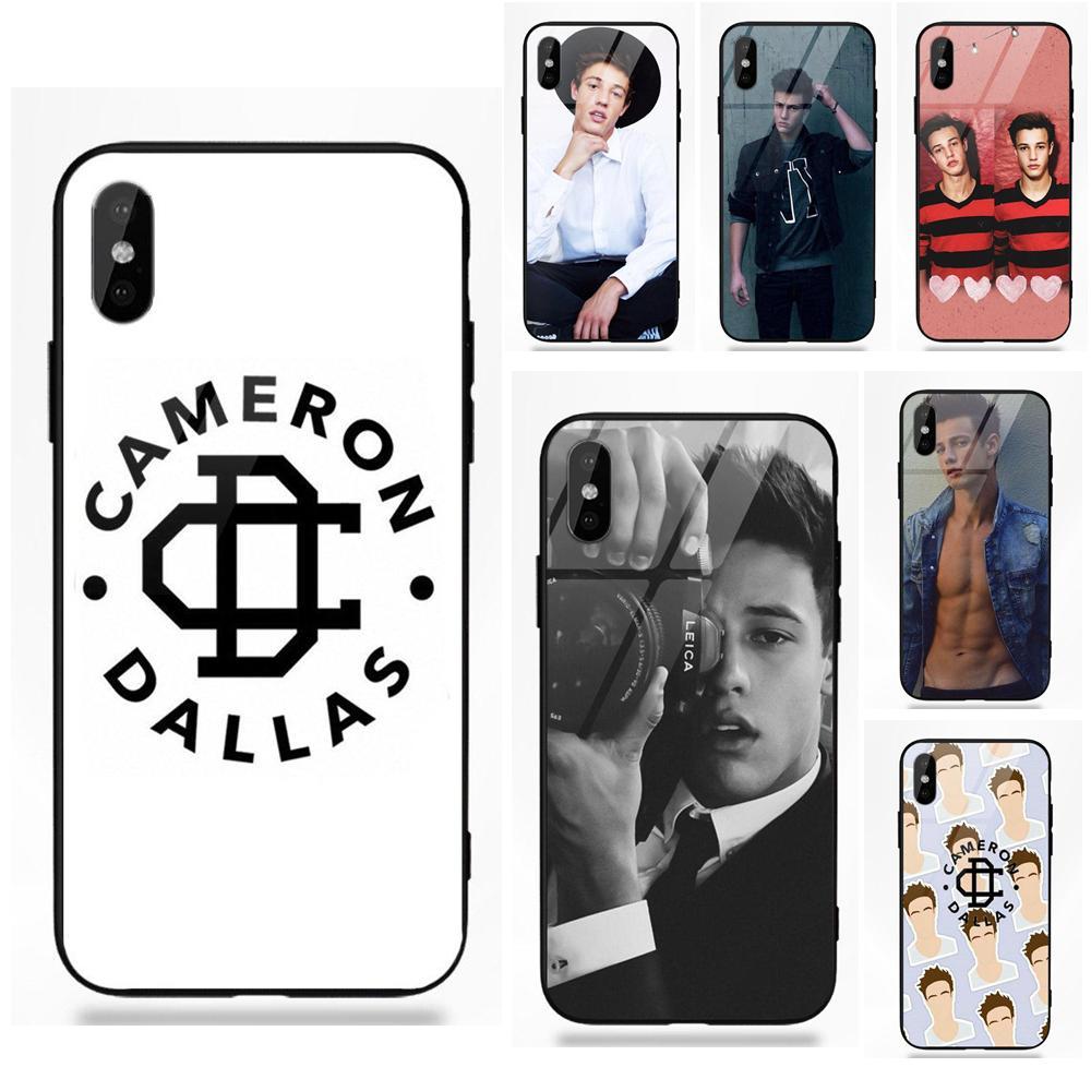cameron dallas black marble 2 iphone case