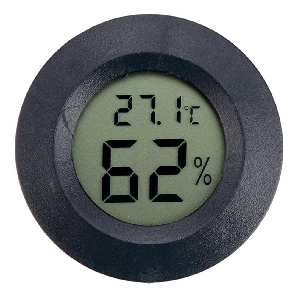 LanLan Thermometer Hygrometer Mini LCD Digital Humidity Temperature Hygrometer Temperature Measurement meter pyrometer Tool wireless digital temperature humidity meter hygrometer thermometer