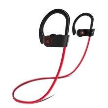 Alwup Беспроводной наушники bluetooth наушники спортивные Бег HiFi музыка шейным бас гарнитура с микрофоном для Xiaomi iphone
