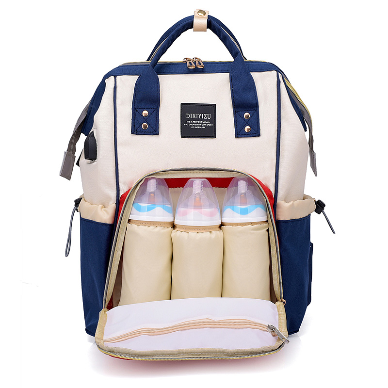 New Backpacks For Baby Diaper Casual Mummy Maternity Nappy Bag Large Capacity Baby Bag Travel Backpack Designer Nursing Bag