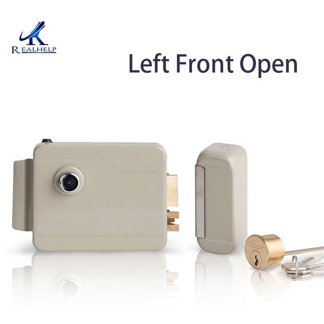 Left Front Open