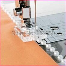 Лапка из нитей жемчуга/блесток диаметром менее 4 мм, для любой марки домашней многофункциональной швейной машины